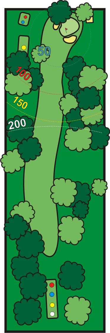 club del golf costa azahar hoyo 4