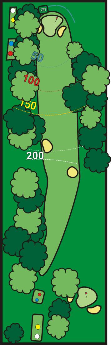 club del golf costa azahar hoyo 5
